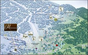 Plan de Plagne Montalbert
